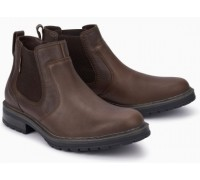 Mephisto Lopez brown leather chealsea boot for men