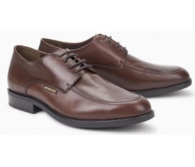 Mephisto Carlo leather lace-up shoe for men brown