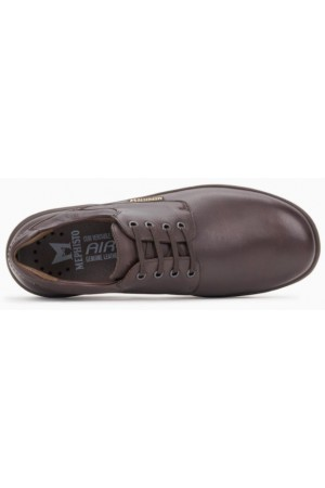 Mephisto Denys leather lace-up shoe for men brown