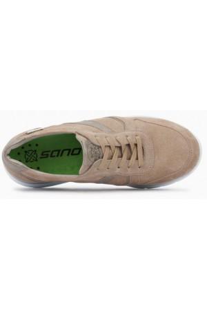 Mephisto Isalys beige leather lace shoe women