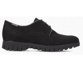 Mephisto Loreen black leather lace shoe women