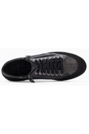 Mephisto Nasera black leather lace shoe women