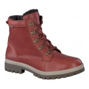 Mephisto Zorah Randy leather ankle boots women - red