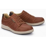 Mephisto Vincente leather lace-up shoe for men brown