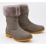 Mephisto Zeline Bucksoft women boots with real fur - grey