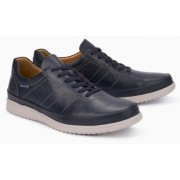 Mephisto Tomy leather lace-up shoe for men blue