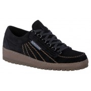 Mephisto Rainbow Velours blue leather lace-up shoe for men