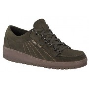 Mephisto Rainbow Velours brown leather lace-up shoe for men