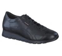 Mephisto Dorothe leather lace shoe women - black