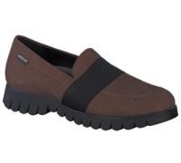 Mephisto Loriane brown slip-on shoes women