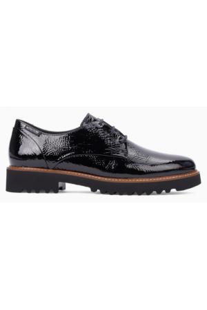 Mephisto Sabatina leather lace-up shoes for women black