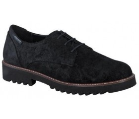 Mephisto Sabatina leather lace-up shoes for women black
