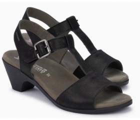 Mephisto Lea leather sandals for women black
