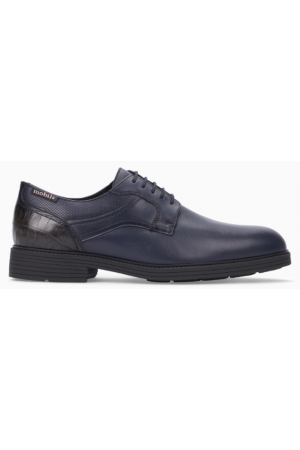 Mobils by Mephisto FLAVIEN leather lace-shoe blue