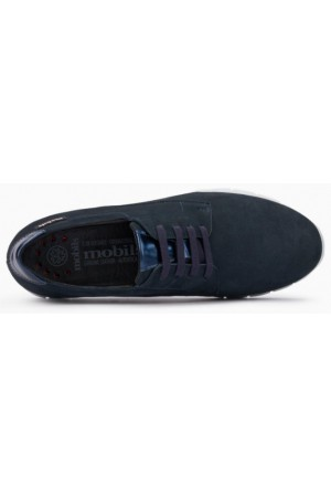 Mephisto Dalyna leather laceshoe for women blue
