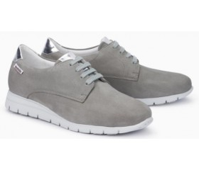 Mephisto Dalyna leather laceshoe for women grey