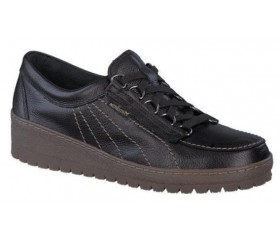 Mephisto LADY leather laceshoe for women brown