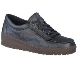 Mephisto LADY leather laceshoe for women graphite