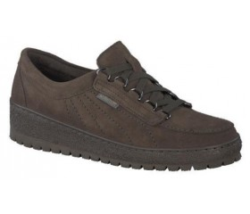 Mephisto LADY leather laceshoe for women green