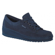 Mephisto LADY leather laceshoe for women blue