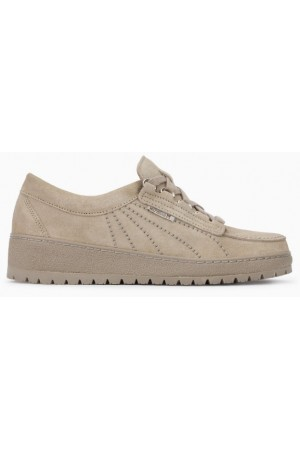 Mephisto LADY leather laceshoe for women beige