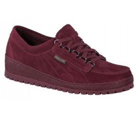 Mephisto LADY leather laceshoe for women red
