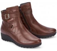 Mephisto ARIANE leather ankle boots for women brown