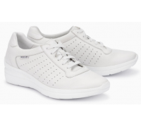 Mephisto Chris Perf leather laceshoe for women white