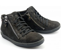 Mobils by Mephisto EMILIA black nubuck    WIDE FIT