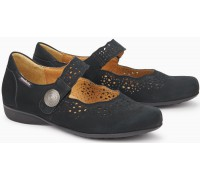 Mobils by Mephisto FABIENNE BUCKSOFT black nubuck WIDE FIT