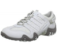 Allrounder by Mephisto FARIA cloud white leather suede