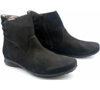 Mephisto FENNA black nubuck ankleboot for women
