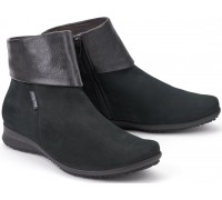 Mephisto FIDUCIA bucksoft black nubuck leather ankle boots for women