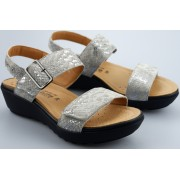 Mobils by Mephisto FOLINA nickel grey suede leather