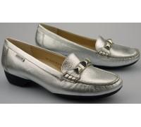 Mephisto GONDA women's ballerina - silver leather