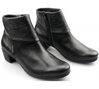 99f6805c65 Mephisto IRIS black leather suede ankle boot for women