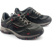 Allrounder by Mephisto NIAGARA  black leather suede   (waterproof)