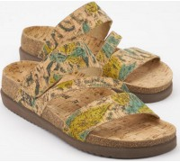 Mephisto BAMBOU - womens sandal - CORK material camel natural product