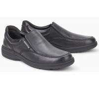 Mephisto DAVY black leather moccasin for men