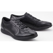 Mephisto LEONZIO leather sneaker for men balck