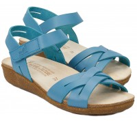 Mobils by Mephisto ONELIA Women's Sandal - Blue - WIDE FIT