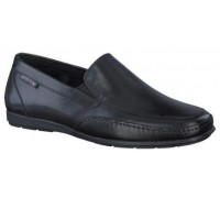 Mephisto Andreas black leather slip-on shoe for men