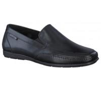 Mephisto Andreas black leather slip-on shoe for men
