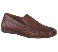 Mephisto Andreas brown leather slip-on shoe for men