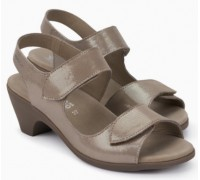 Mephisto Cecila leather sandals for women beige