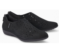 Mephisto Dina Perf leather slip-on shoe for women black