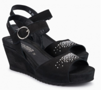 Mephisto Gaby Spark leather sandals for women black