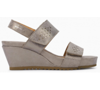 Mephisto Gilie leather sandals for women grey