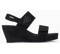 Mephisto Gilie leather sandals for women black
