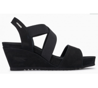 Mephisto Giuliana leather sandals for women black